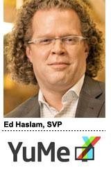 Ed Haslam, YuMe
