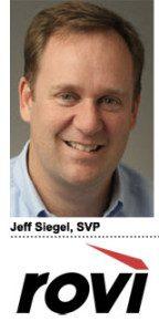 Jeff Siegel, Rovi