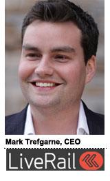Mark Trefgarne, LiveRail