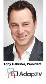 Toby Gabriner, President, Adap.tv