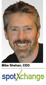 Mike Shehan, SpotXchange 2013