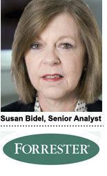 Susan Bidel, Forrester