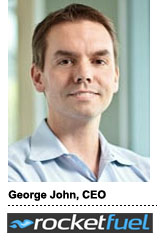 George John, CEO, Rocketfuel