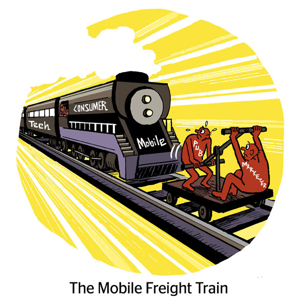The Mobile Freight Train