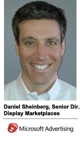 Daniel Sheinberg, senior director of display marketplaces at Microsoft