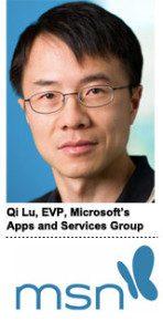 Qi Lu, Microsoft