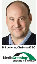 Bill Lederer, CEO Mediacrossing