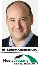 Bill Lederer, CEO Mediacrossing