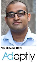 Nikhil Sethi, CEO, Adaptly