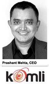 Prashant Mehta, Komli 2013