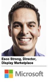 Esco Strong, director, Display Marketplace