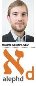 Maxime Agostini, CEO, Alephd