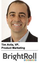 Tim Avila, BrightRoll