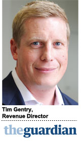 Tim Gentry, Revenue Director, The Guardian