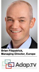 Brian Fitzpatrick, Managing Director of Adap.tv Europe