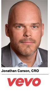 Jonathan Carson, CRO, Vevo