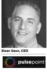 Sloan Gaon, CEO, PulsePoint