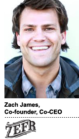 Interview With :   Zach James, Co-Founder and Co-CEO at Zefr