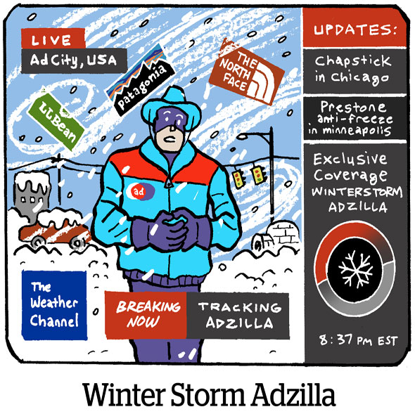 Winter Storm Adzilla