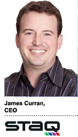 Interview With :   James Curran, CEO of STAQ, a systems integrator specializing in advertising technology