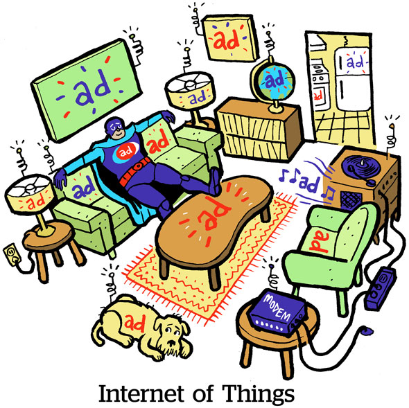 Comic: Internet Of Things | AdExchanger