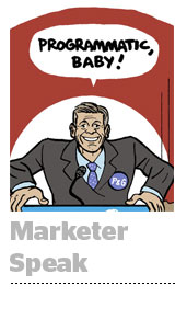 marketer-speak
