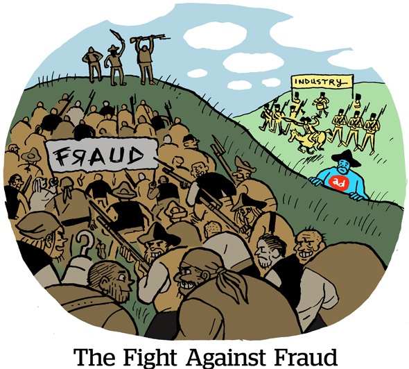 The Fight Against Fraud