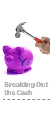 Yahoo piggy bank
