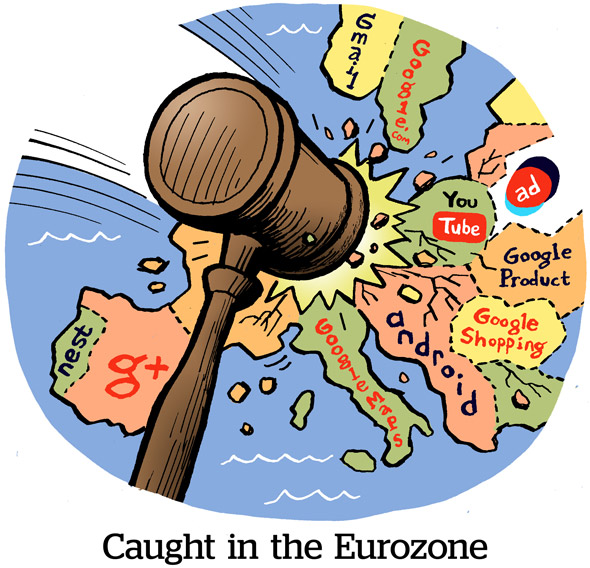Caught in the Eurozone