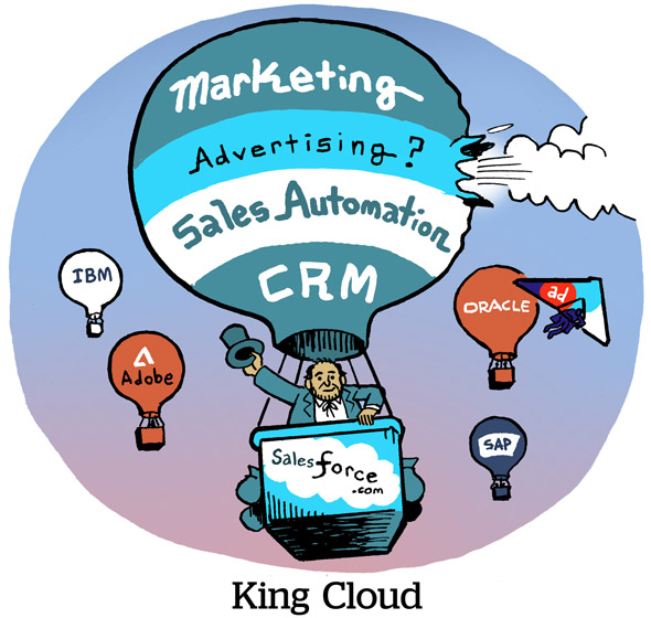 Salesforce To Buy Krux For $700M, Closing Ad Tech Gap With Rival Marketing Clouds