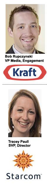 Starcom Kraft Tracey Paull Bob Rupczynski