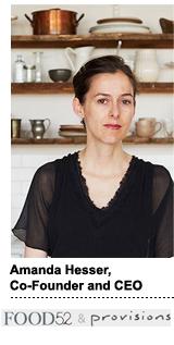 Food52 - Amanda Hesser
