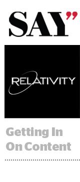 Relativity - Say