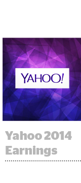 Yahoo 2014 earnings