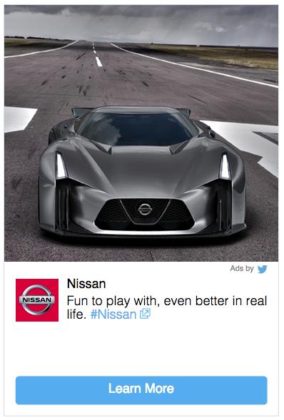 NissanPromotedTweet