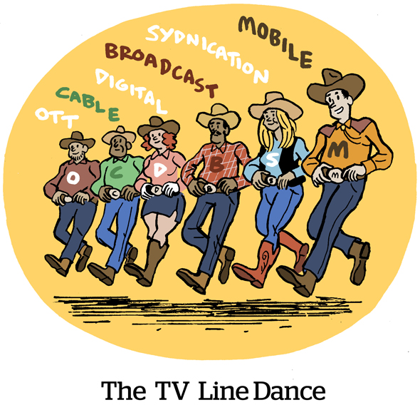 The TV Line Dance