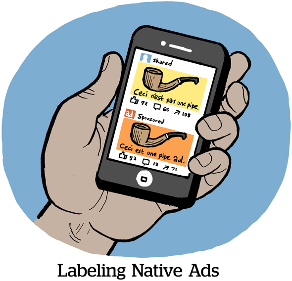 Labeling Native Ads