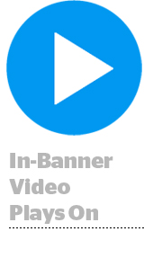 In Banner Video