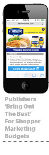Publishers and shopper marketing