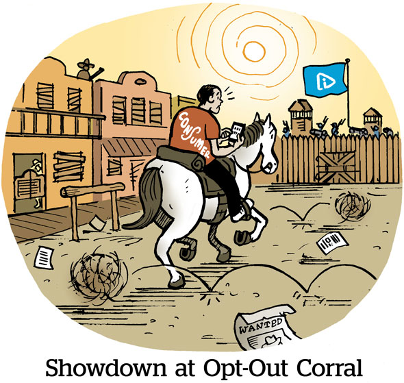 Showdown at Opt-Out Corral