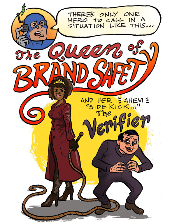 AdExchanger: The Queen Of Brand Safety - Part I - Cell 2