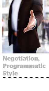 Programmatic Negotiations