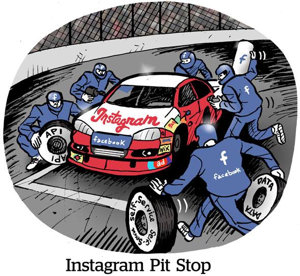 Instagram Pit Stop