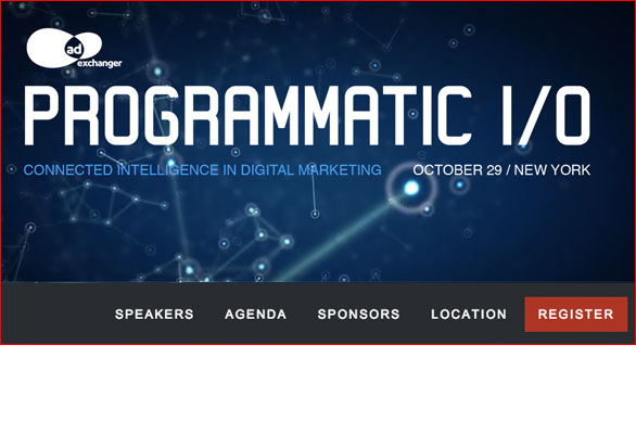 Programmatic I/O - NYC - Oct 29