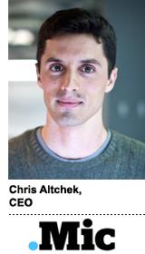 Chris Altchek CEO Mic