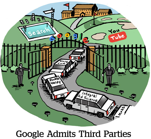 Google Admits Third Parties