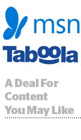 Taboola and MSN