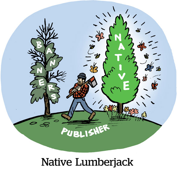 Native Lumberjack
