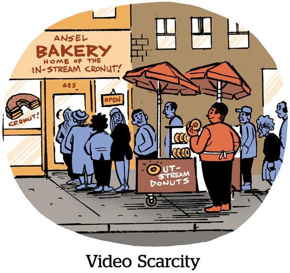 Video Scarcity