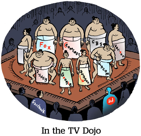 In The TV Dojo